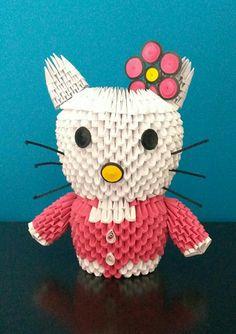 Hello Kitty Origami 3D