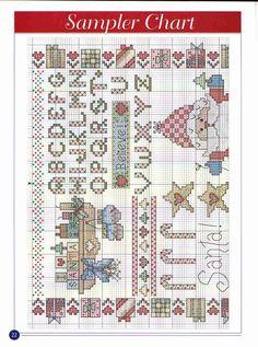 CROSS STITCH 101 CHRISTMAS DESIGNS 22/24