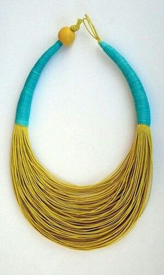 Multycolour necklace