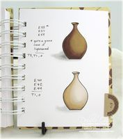 Trendy Tabs: Copic Blends Notebook - Thinking Inking