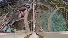 Here's what it's like to ride the world's tallest waterslide (POV video)