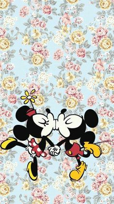 wallpaper, minnie, and mickey image Mickey Mouse Tumblr, Minnie Mouse, Walt Disney, Disney Art, Tumblr Wallpaper, Wallpaper Backgrounds, Wallpapers Kawaii, Iphone Wallpapers, Desktop