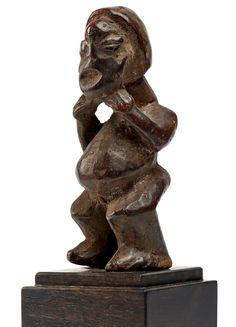 Bamileke Mu Po Figure, Cameroon
