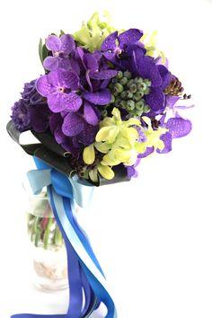 バンダ/夏ブーケ/トロピカル/花どうらく/http://www.hanadouraku.com/bouquet/wedding/hanadouraku