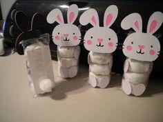 Jean's Crafty Corner: It's a Basket Case Blog Hop: Day 2: Bunny Doughnuts Little donut packs...how cute