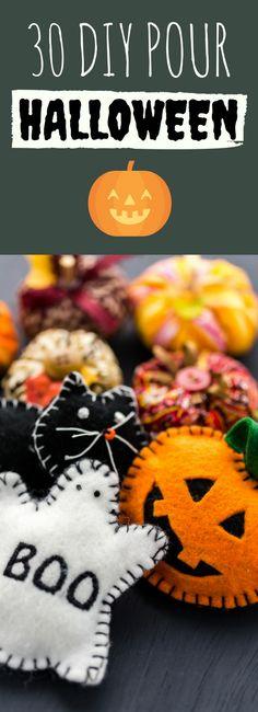 Déguisements, décorations : 30 DIY pour Halloween !