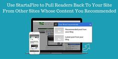 ☀ Did you know that you can get traffic to your site while sharing other people's great content? Find out which tools help you do this in this article: https://blog.kissmetrics.com/turn-wordpress-website-into-a-growth-engine/