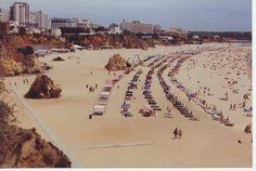 praia da rocha -portugal