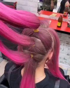 Hairdo For Long Hair, Bun Hairstyles For Long Hair, Bride Hairstyles, Hair Cutting Techniques, Hair Color Techniques, Hair Ponytail Styles, Curly Hair Styles, Hair Style Vedio, Hair Tutorials For Medium Hair