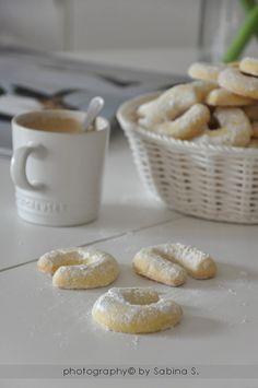 """""""Vanillegipfele"""" cornetti alla vaniglia"""