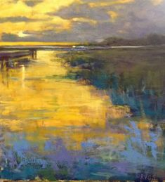 Landscape Paintings and photographs : This painting is so Abstract Landscape Painting, Landscape Art, Landscape Paintings, Abstract Art, Landscapes, Impressionist Art, Paintings I Love, Pastel Art, Painting Techniques
