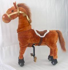 "UFREE Horse, Action Pony, Walking Horse Toy, Giddy up Go Go Go for Kids Aged 3-5 Years Old, Rocking Horse Plush Fur, Really Go with Wheels,Height 35""  http://www.babystoreshop.com/ufree-horse-action-pony-walking-horse-toy-giddy-up-go-go-go-for-kids-aged-3-5-years-old-rocking-horse-plush-fur-really-go-with-wheelsheight-35/"