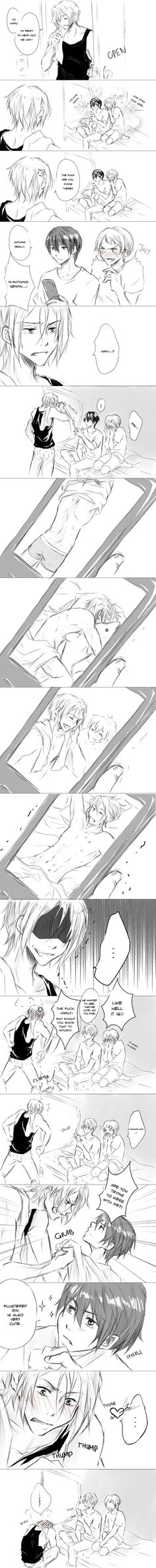 Free! that's funny and cute ^_^