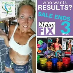 Are you sick and tired of how you look and feel right now?  21 Day Fix has changed my life and it can change yours.  Please email me if you're interested...amydelardi@gmail.com.