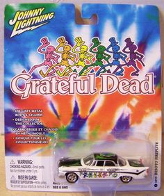 ctd-Johnny Lightning 2004 Grateful Dead #2 '59 Desoto Fireflite-wt/blk/XX