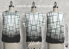 New collection b&w 'Geometric lines' is avaliable in VIDA shop on site  http://shopvida.com/collections/voices/adam-miszk   I invite everyone who wants to give me your love voice in fashion and buy my beautiful design.