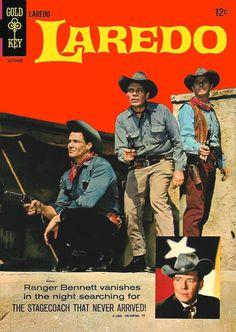Tv series laredo comic westerns tv 1960s comic books tv westerns