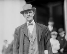 Eugene Debs Portrait Photo, Union Leader, Socialist, IWW, Wobblies, Terre Haute Indiana, Black and White Photography, 1912