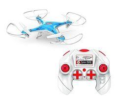 Drone Quadcopter Aircraft X-10, 6 Ejes, 2.4G, Cámara HD De 2 Mpx con luces LED, Azul - http://www.midronepro.com/producto/drone-quadcopter-aircraft-x-10-6-ejes-2-4g-camara-hd-de-2-mpx-con-luces-led-azul/
