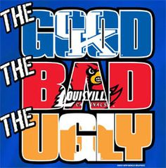 Kentucky Wildcats Football T-Shirts - The Good The Bad The Ugly