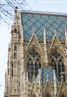 St Stephens Cathedral Vienna.  Beautiful Gothic Architectural details!