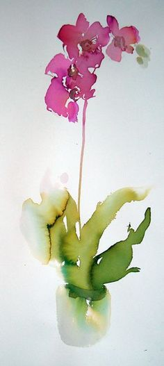"kenzotrufi: "" Watercolor. """