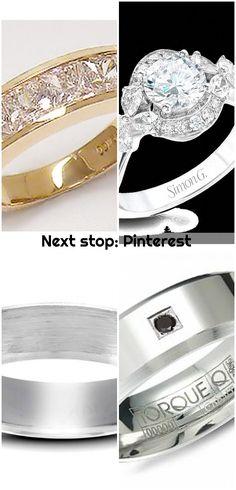 Next stop: Pinterest , Next stop: Pinterest... ,  #Pinterest #stop Wedding Men, Wedding Bands, Pinterest Pinterest, Platinum Wedding, Engagement Rings, Crystals, Diamond, Jewelry, Enagement Rings