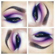 Purple eyeshadow  #treybabyy