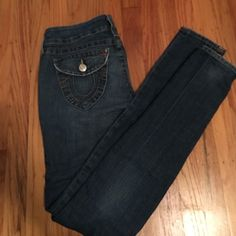Authentic true religion skinny jeans size 27 Authentic true religion brand skinny jeans. Size 27. Julie style. True Religion Jeans Skinny