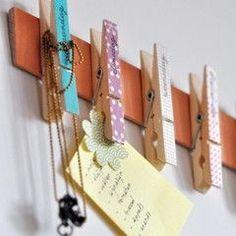 10x creatief met wasknijpers! | Madame Creatief E Craft, Craft Stick Crafts, Diy And Crafts, Craft Projects, Arts And Crafts, Diy For Kids, Crafts For Kids, Deco Originale, Kids Room Design