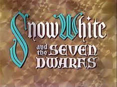 """Snow White & the Seven Dwarfs"" (1937)"