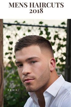 Top 100 Mens Haircuts 2018 Short Textured Crop + Fade Check out our gallery For more Mens Hairstyles . Top 100 Mens Haircuts 2018 Short Textured Crop + Fade Check out our gallery For more Mens Hairstyles . Cool Mens Haircuts, Cool Hairstyles For Men, Popular Haircuts, Undercut Hairstyles, Hairstyles Haircuts, Man Haircuts, Barber Haircuts, Hair And Beard Styles, Curly Hair Styles