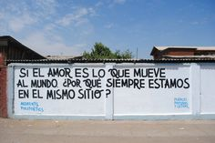 Pintada en Santiago de Chile .