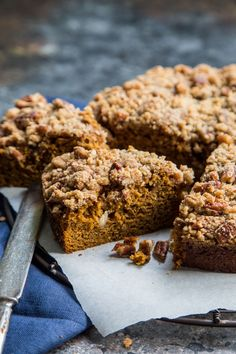Pumpkin Gingerbread Coffee Cake