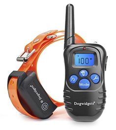 Dogwidgets DW18 Dog Training Collar With Remote 100 Levels Of Shock Vibration Warning Sound Beep Rechargeable Waterproof 330 Yards Pet Trainer -- More info could be found at the image url.Note:It is affiliate link to Amazon.