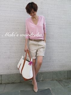 Maki's wardrobe|田丸麻紀オフィシャルブログ Powered by Ameba Fashion Pants, Love Fashion, Daily Fashion, Fasion, Smart Casual Outfit, Classy Casual, Chic Outfits, Summer Outfits, October Fashion