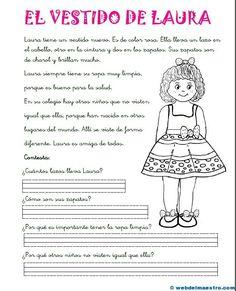 Comprensión lectora para 1º de primaria