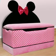 Disney Minnie Mouse Toy Box by Delta FREE SHIPPING - $169.95