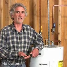 the family handyman editor, jeff gorton will show you the most common reason you have no hot water and how to correct the issue yourself.