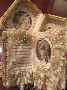 Altered Handbag to Treasure Box
