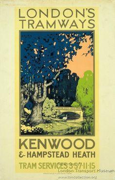Kenwood and Hampstead Heath ~ Leslie Carr