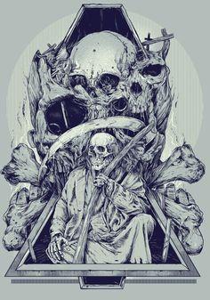 Les illustrations de Rafal Wechterowicz