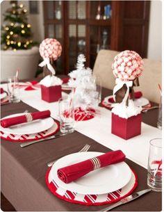 como hacer decoraciones para navidad | Decoraciones, cena, navidad, color fans