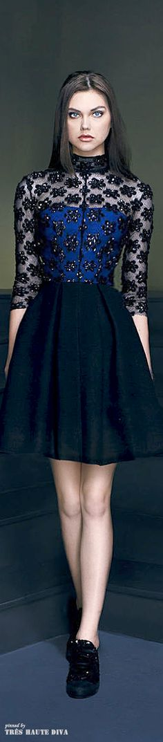 Georges Hobeika 'Signature' Fall 2014 RTW. Reminds me of something Kate would wear. Stunning.