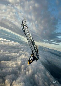 """Tomcat - """"Black Sails at Afternoon"""" Air Fighter, Fighter Pilot, Fighter Aircraft, Fighter Jets, Military Jets, Military Aircraft, Tomcat F14, Photo Avion, F4 Phantom"""