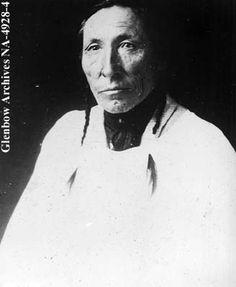 Paul Pukapinni, or Paul Little Walker, Anglican lay reader, Blackfoot (Siksika) reserve, Alberta. Date: [ca. 1900]