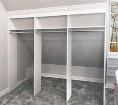 closet sloped ceiling closets More Schlafzimmer Schrank Design-Ideen 5 Mind Blowing Ideas: Cozy Attic Beds attic bathroom garage.