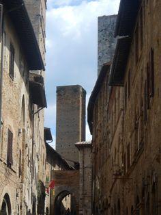 One of the towers of San Gimignano  San Gimignano, Siena - Italy