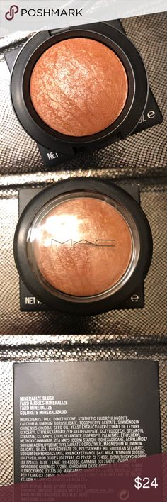 MAC Mineralize Blush Cheek and Cheerful BRAND NEW! Brand new in box and never used or tested MAC Mineralize Blush in Cheek and Cheerful. Gorgeous shade, shimmer glow! Completely authentic! MAC Cosmetics Makeup Blush