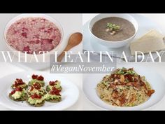 What I Eat in a Day #VeganNovember 1 (Vegan/Plant-based) | JessBeautician - YouTube